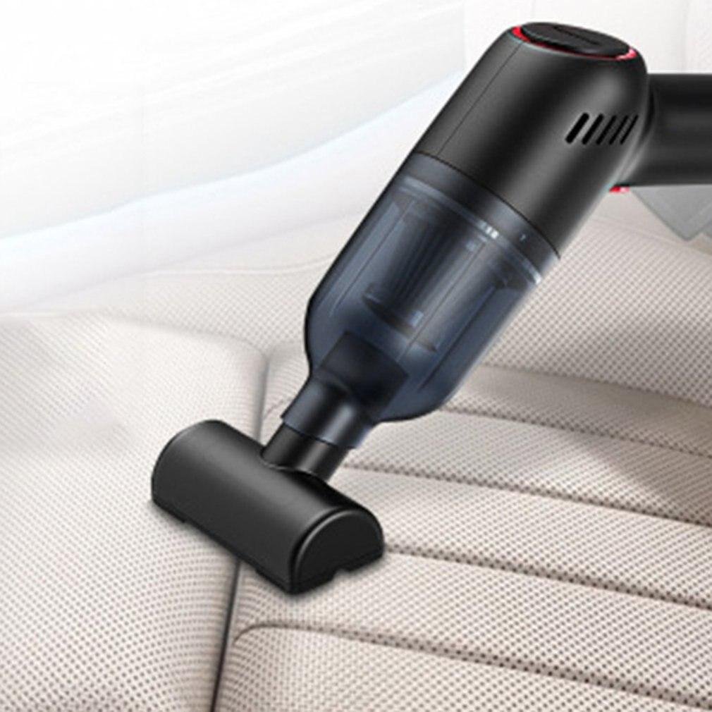 Беспроводной портативный автомобильный пылесос ручной автоматический пылесос 8000 ПА 120 Вт с высоким всасыванием для влажной и сухой уборки