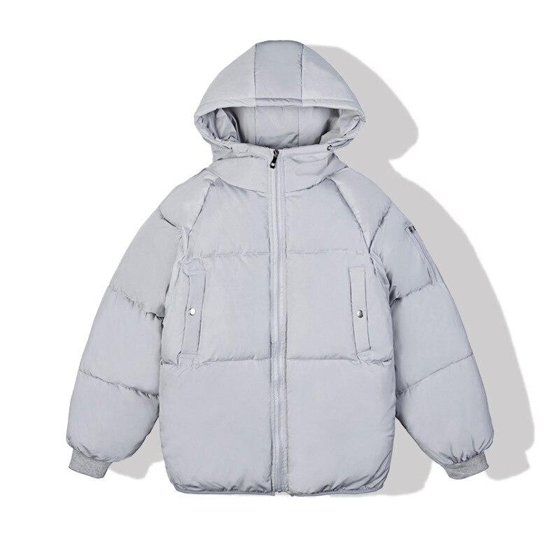 Новинка Зима 2021, мужская куртка с хлопковой подкладкой, Молодежная куртка с капюшоном, утепленная парная пуховая куртка, оптовая продажа