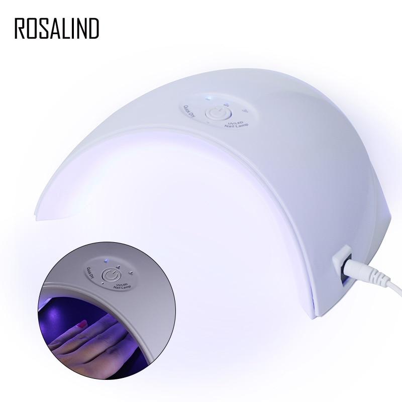 ROSALIND-lámpara UV LED para secar esmalte, de Gel para manicura semipermanente, de secado rápido
