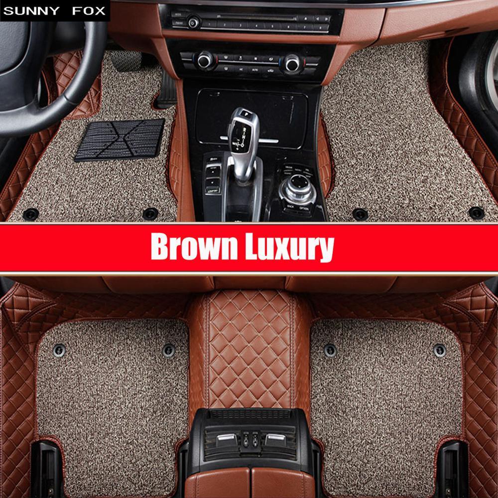 Esteiras do assoalho carro para chevrolet cruze malibu trax vela captiva epica 5d estilo do carro tapete piso forro
