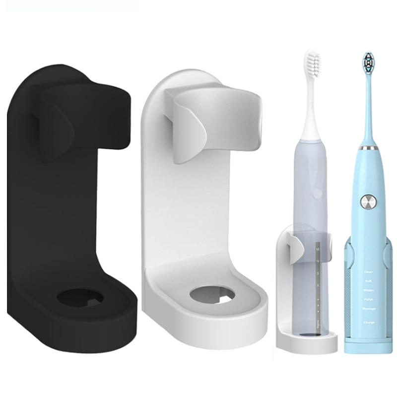 KeWL Electric Toothbrush Holder Traceless Toothbrush Stand Rack Wall-Mounted Bathroom Adapt 90% Electric Toothbrush Holder electric toothbrush holder toothbrush holder toothbrush holder storage rack wall mounted bathroom rack toothbrush holder 13mm