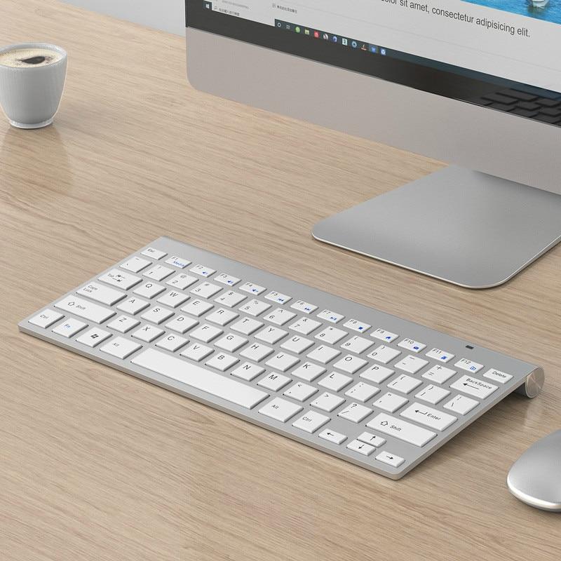 لوحة المفاتيح اللاسلكية الماوس دعوى 2.4G لوحة مفاتيح صغيرة الماوس ولوحة المفاتيح دعوى ل WinXP/ويندوز/ماك OS/لينكس