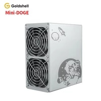 home or officenew goldshell mini doge 185m 300w ltc doge miner no psu better than antminer l3 innosilicon a4 a6