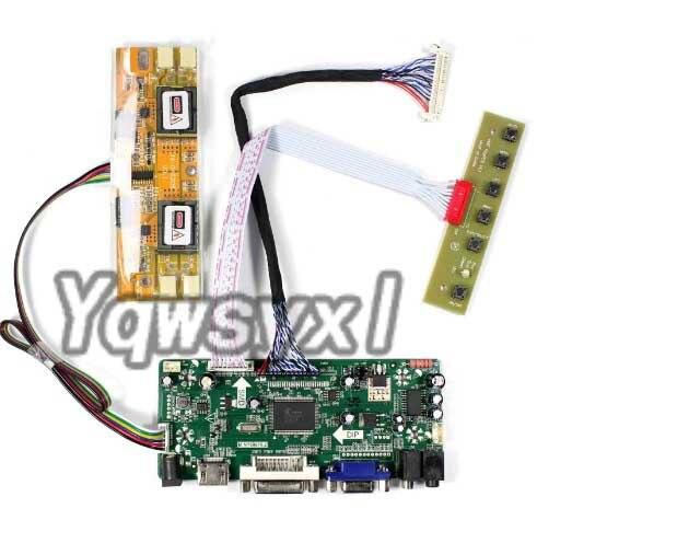 Yqwsyxl kit para M216H1-L01 M216H1-L06 M216H1-L03 hdmi + dvi vga lcd led controlador de tela placa motorista