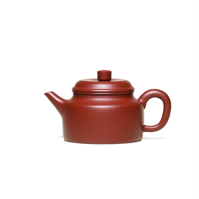 Yixing الأرجواني الطين إبريق الشاي اليدوية الخام خام Dahongpao jianleo Dezhong طقم شاي صيني إبريق الشاي المنزلية طقم شاي الكونغ فو