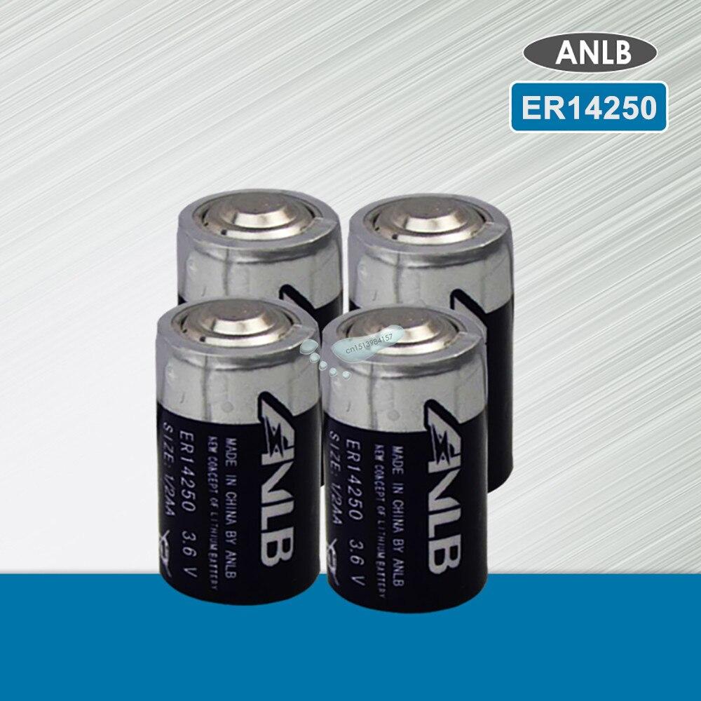 4PCS ANLB ER14250 ER 14250 CR14250SL 1/2AA 1/2 AA 3,6 V 1200mAh PLC industrie lithium batterie primäre batterie für kamera