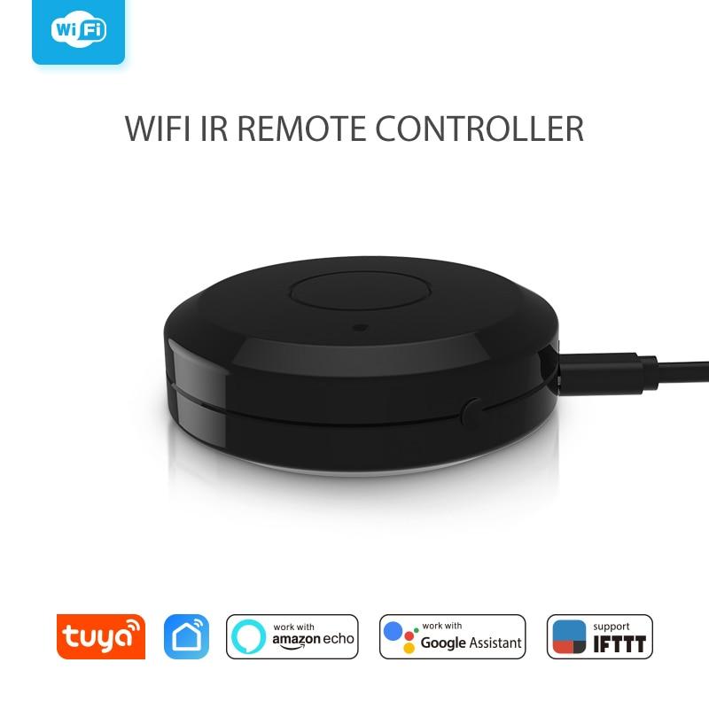Умный ИК-пульт дистанционного управления, универсальный инфракрасный пульт дистанционного управления для ТВ, работает с Alexa Google Home