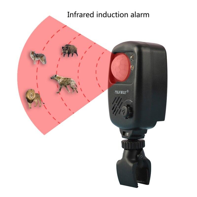 Angeln Infrarot Sensor Alarm Sound Alarm Wireless Motion Detektor Beißen Alarme Karpfen Camping Jagd Alarm Angeln werkzeug c