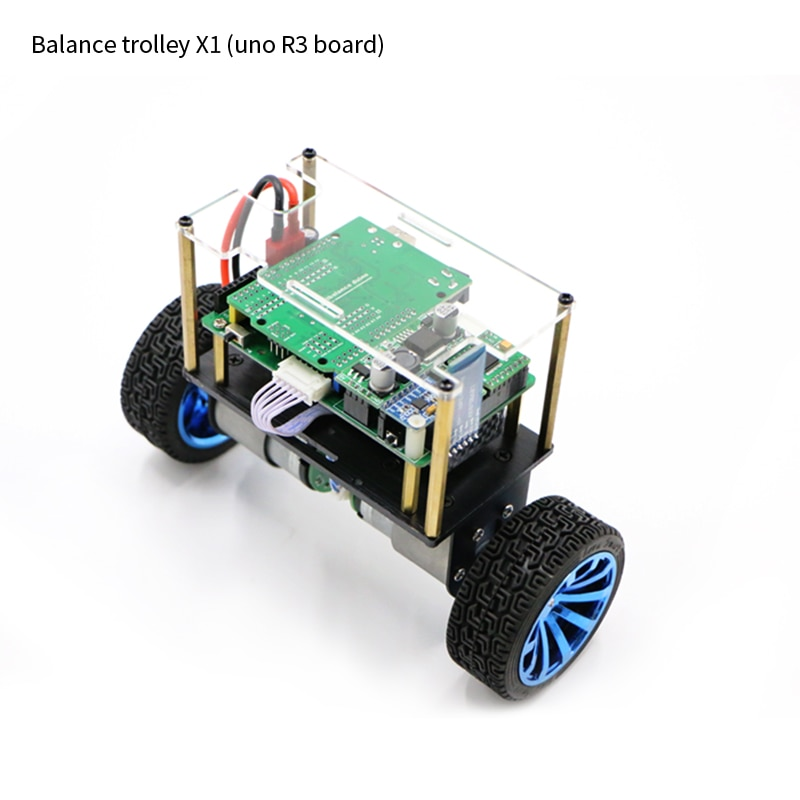 Aduino electric balance car mobile phone app remote control charging high performance balance chassis enlarge