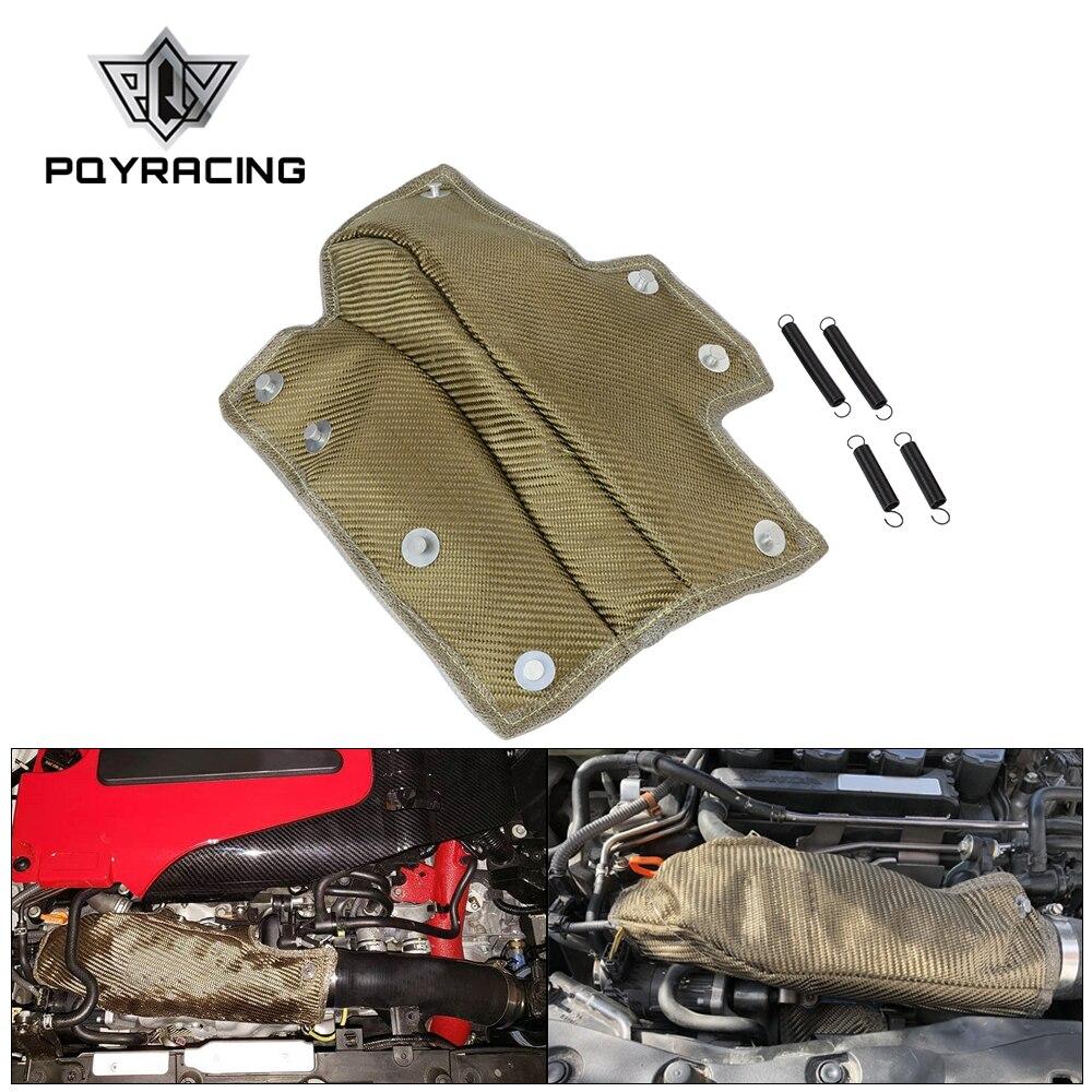 Pqy-lava manta de tubo de entrada turbocompresor escudo de calor de admisión de refrigeración de alta resistencia de temperatura térmica para Honda Civic 1,5 T PQY-TBF06