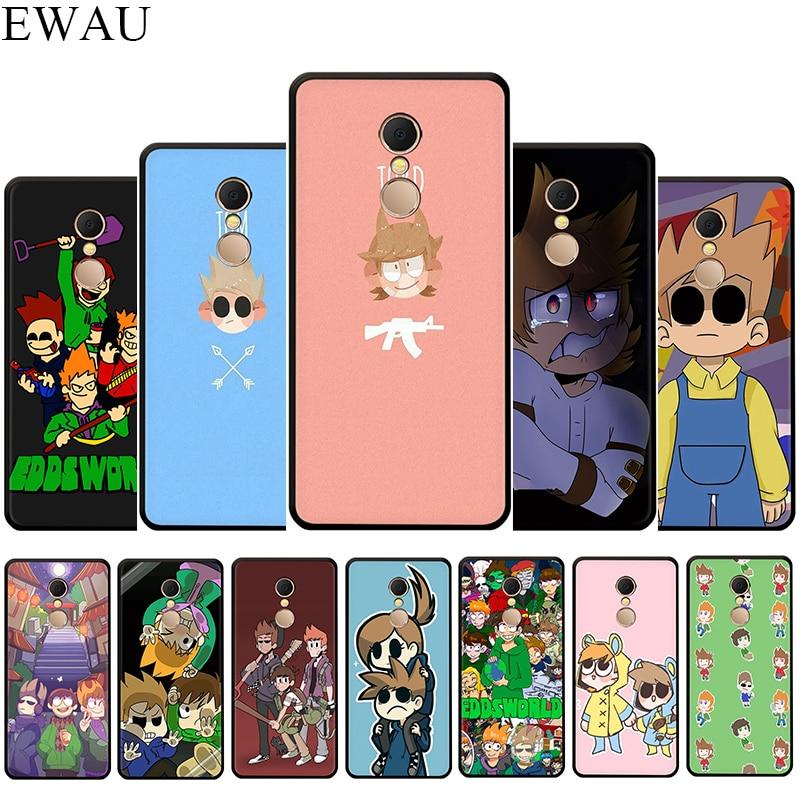 EWAU Eddsworld Silicone phone case for Xiaomi Redmi 4A 4X 5 5A 5Plus 6 6A 7A 6pro 7 S2 GO K20 Pro