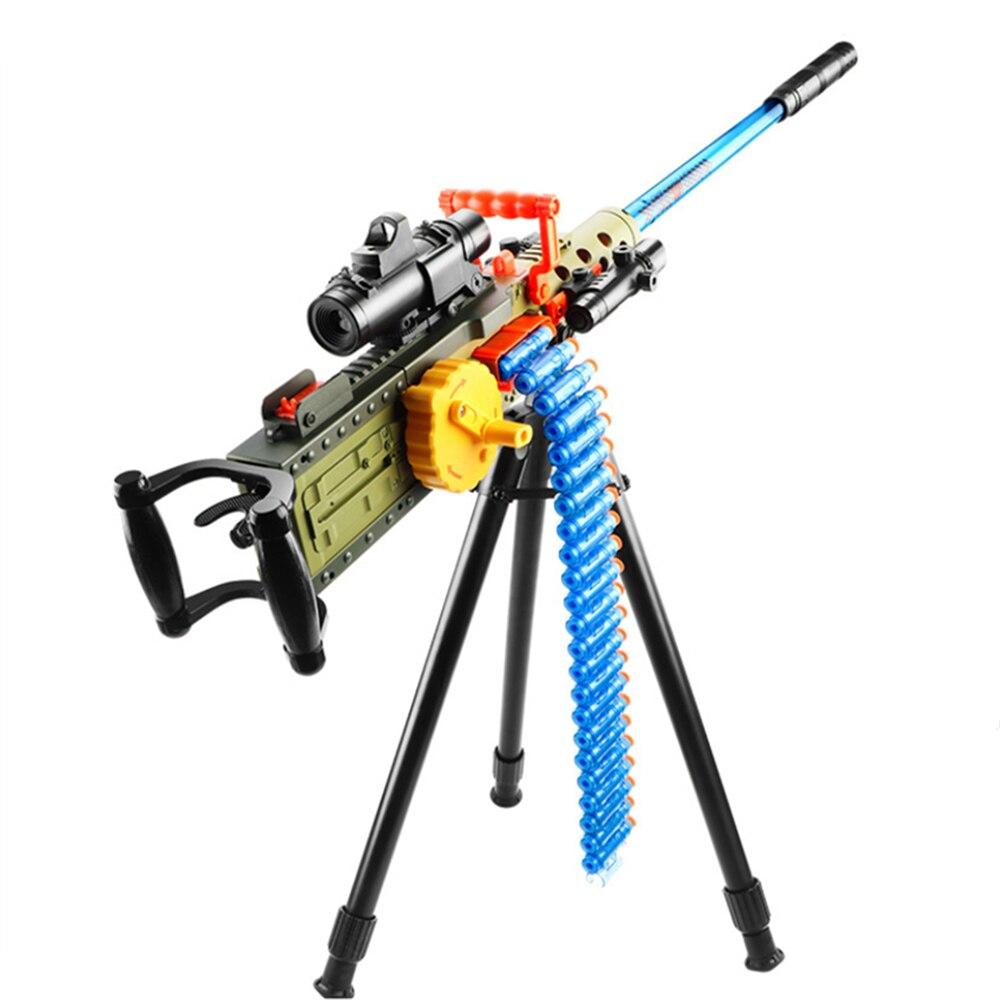 Toy Gun For Boy Electric Shooting Darts Funny Kids Game Soft Hollow Bullets Foam Safe Sucker Bullet Children Birthday Gift