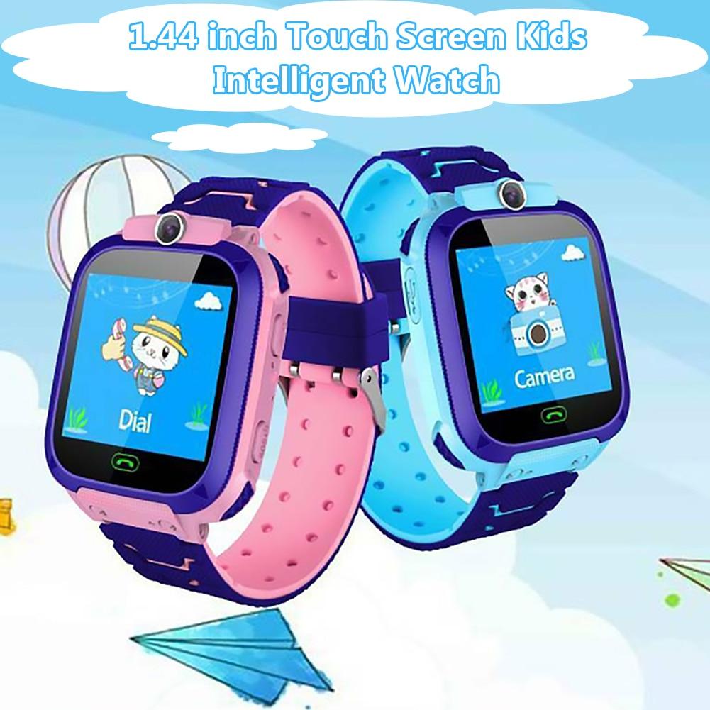 Q12 Kids Smartwatch Waterproof Phone Call Watch SOS Anti Lost Tracker Smart Watch for Children Gift
