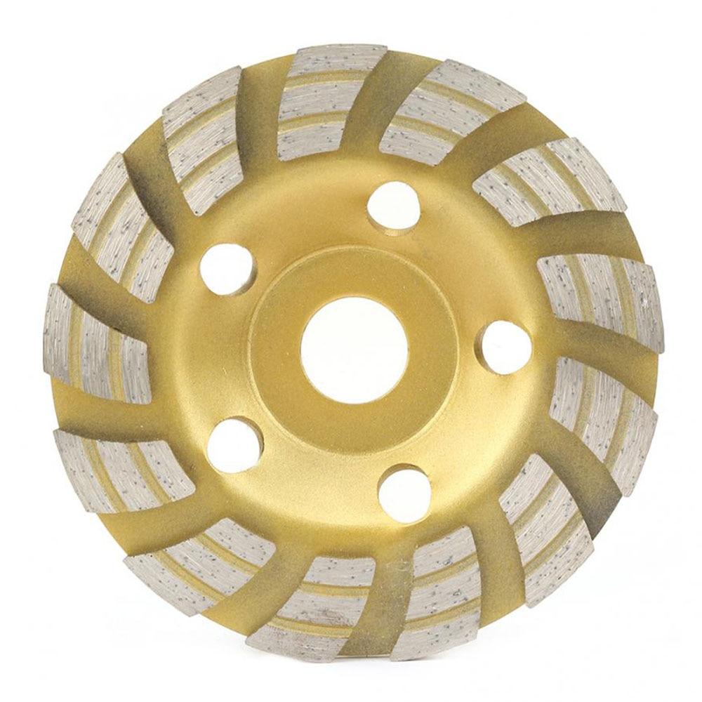 Polimento de moagem 125*22.2mm segmento diamante moagem disco de corte para ferramentas de corte de mármore concreto
