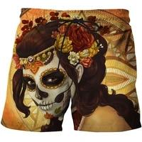 2021 summer swimming trunks 3d printing casual beach pants fitness street mens comfortable shorts fashion hip hop sports pants