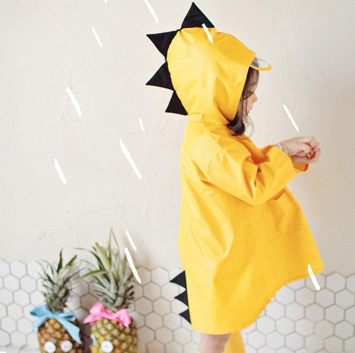 Chubasquero pequeño de dinosaurio para niños, niñas, niños, jardín de infantes, estudiantes, bebés, mujeres, niños pequeños, capa de lluvia para niños pequeños