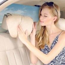 Hot New Super Soft Car Headrest / Auto Seat Cover Head Neck Rest Cushion /Adjustable Car Pillow For Mercedes-Benz