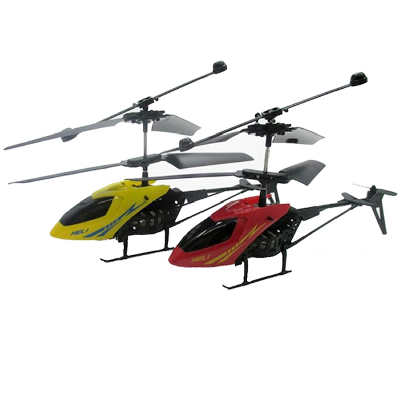 2Ch Micro Electric Plastic RC Helicopter Mini Radio Aircraft Remote Control Toys 3.7V Lithium Rechargeable Battery LED Flash 901