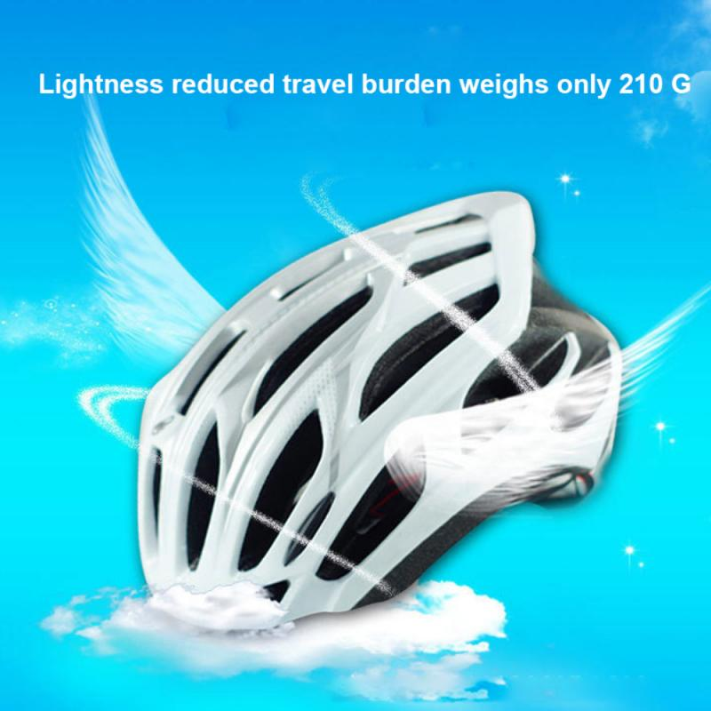 Ultra-light Road Bicycle Helmet Racing Cycling Bike Equipment Sports Safety Helmet Cycling Helmet 19 Air Vents Daily Cycling New