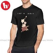 Charlie Puth T Shirt kayıp japonya Shawn Mendes T-Shirt grafik pamuk Tee gömlek büyük sevimli erkekler kısa kollu Streetwear tshirt