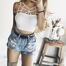 Women Sexy Casual Tank Top Vest Sleeveless Summer Crop Top Shirt Cami Top Sexy Summer Clothes