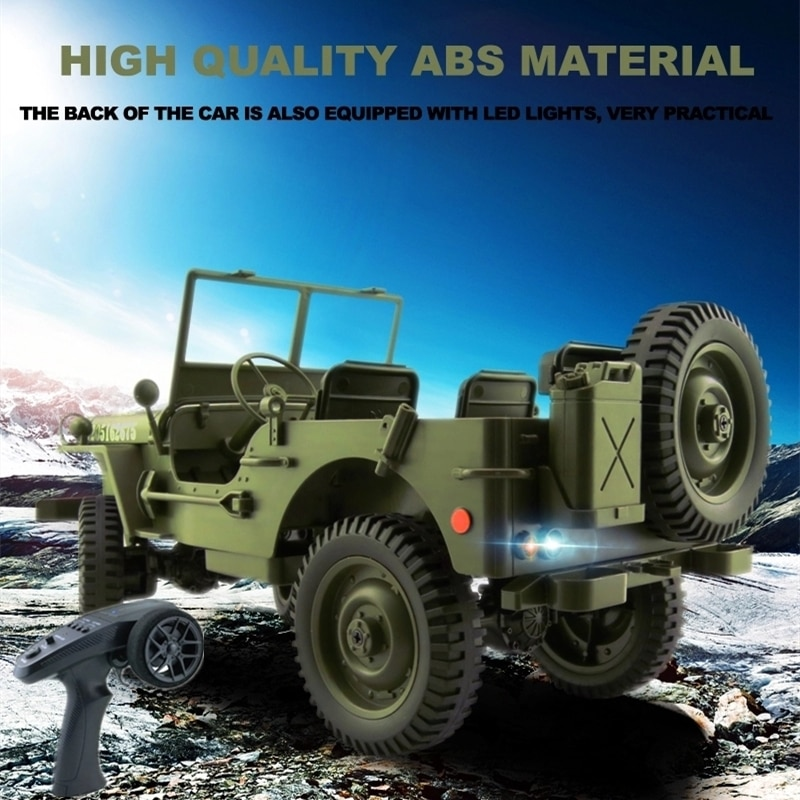 4WD Remote Control Off-Road Truck 1:10 Full Scale 2.4G Radio Control Multi Terrain Accessible 800M Control Distance RC Vehicle enlarge
