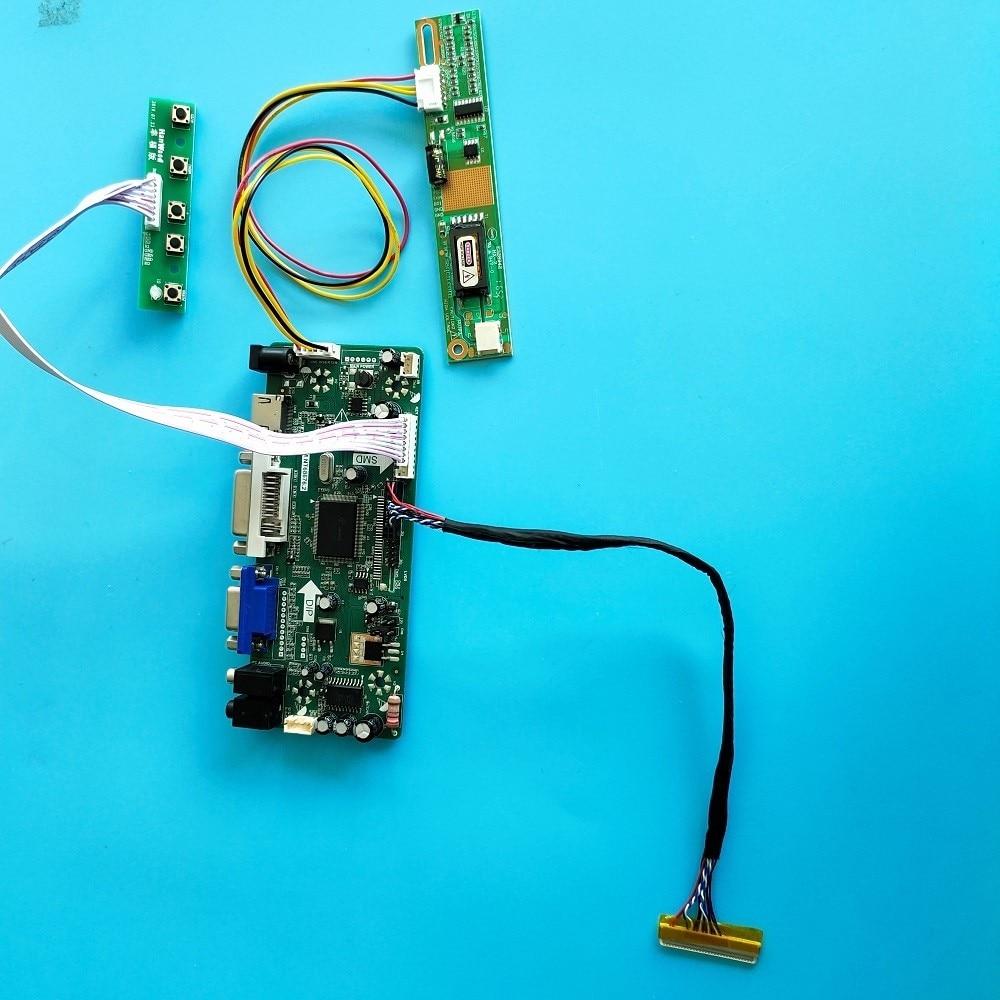 كيت ل LTN141WD-L05/L07/L01 رصد 1440x900 30pin M.NT68676 HDMI + DVI + VGA لوحة LCD الصوت المراقب المجلس