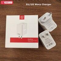 Оригинальное зарядное устройство OnePlus Warp USB 5V 6A Dash EU US Plug Adapter 100 см, кабель Type-C для One plus 1 + 7 7T 8 8T 8 Pro Nord N10 N100