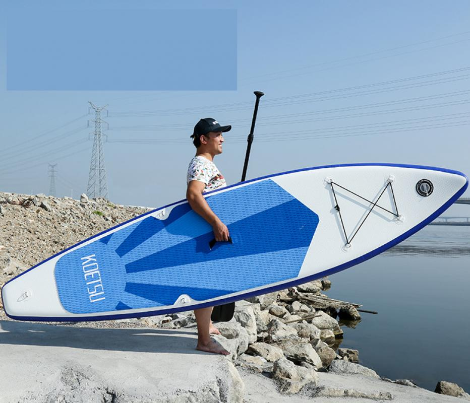 3,2 m/3,8 m/4,2 m herramientas de deportes acuáticos surf profesional Longboard Wakeboard TABLA DE Sup Inflable al aire libre Stand Up Paddle Board