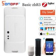 Sonoff BASICZBR3 ZigBee Switch Smart Home Diy Modules Wireless APP Remote Voice Control Work With Am