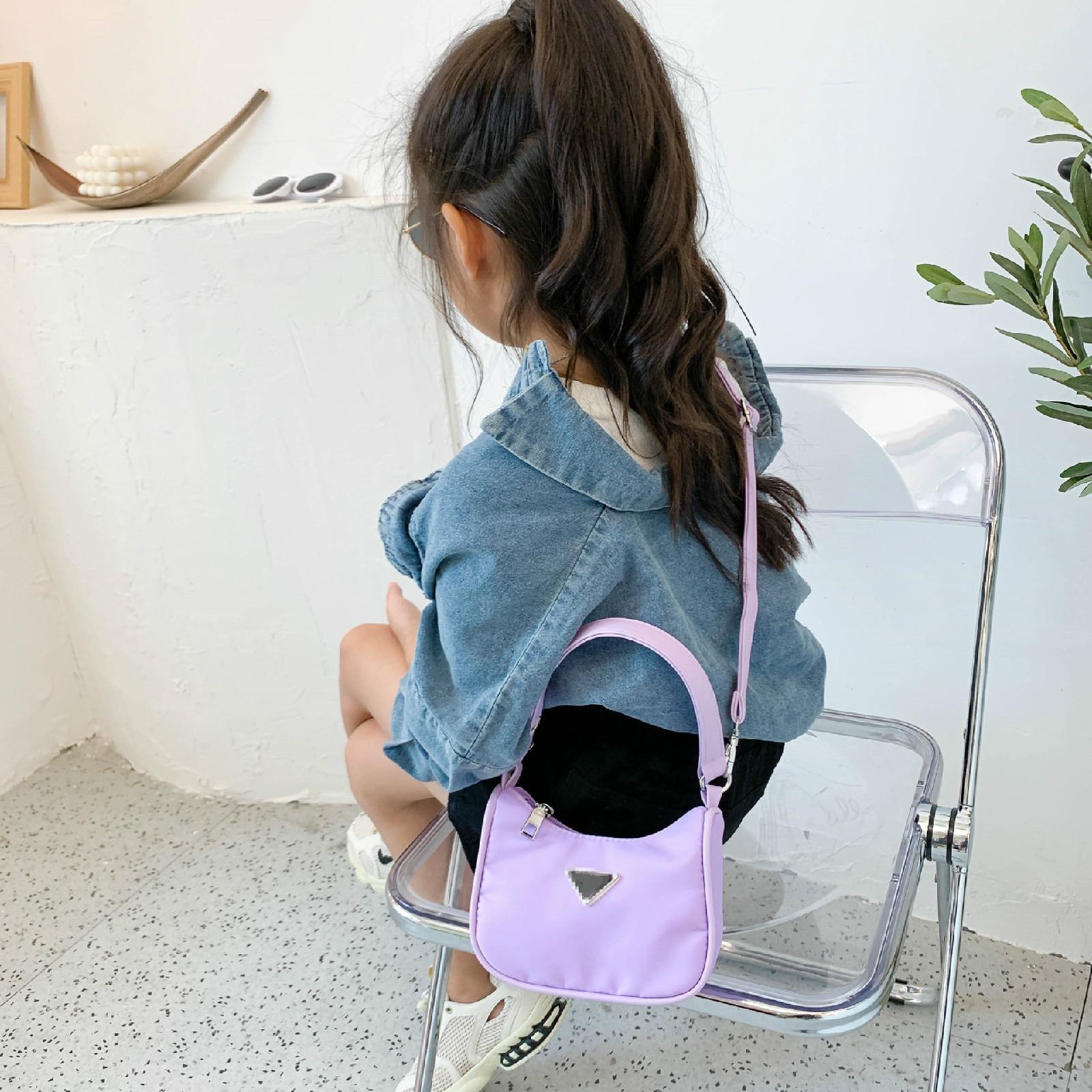 Children Crossbody Bags Girls Underarm Bags 2020 New Trend Baby One-shoulder Messenger Fashion Handbag