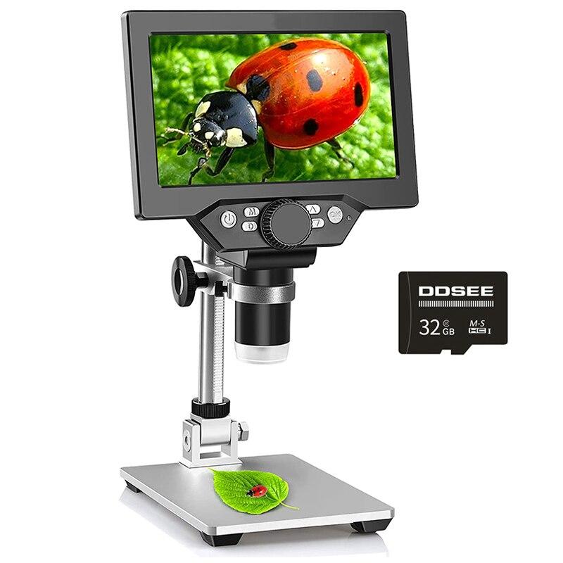 1000x2.0 ميجابكسل USB الرقمية مجهر الكتروني DM4 4.3