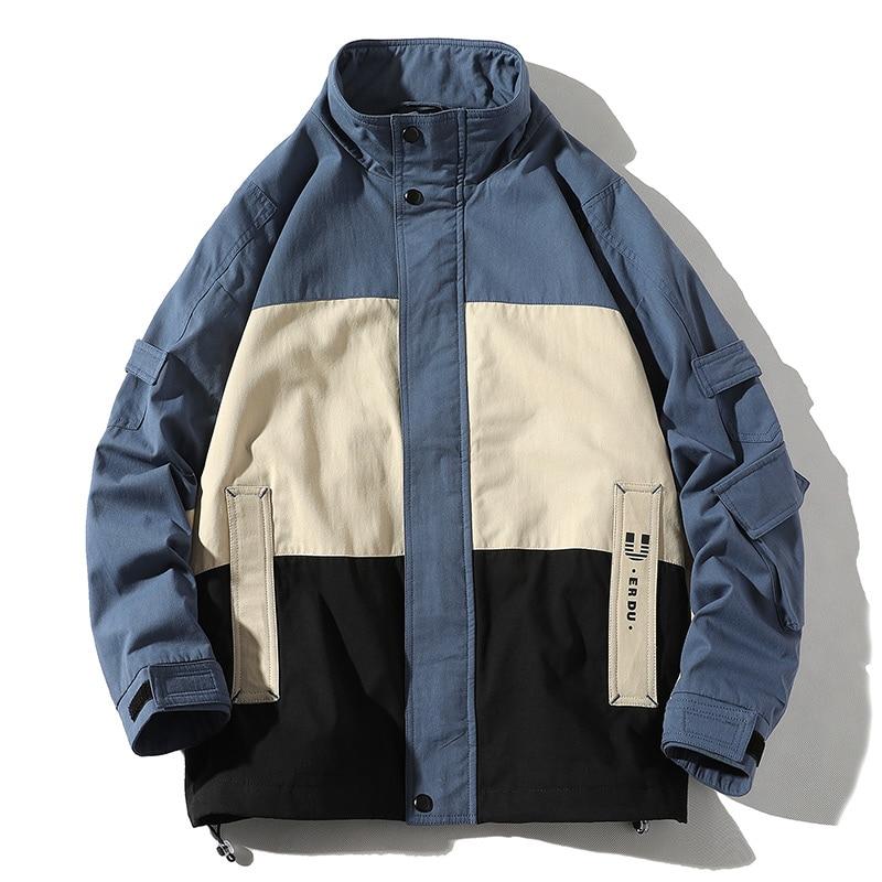 Ropa de calle Casual chaqueta de hombre 2020 primavera para hombre chaqueta de bombardero Abrigo con capucha cortavientos prendas de vestir para hombre