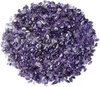 natural amethyst tumbled chips stone crushed crystal polished irregular shape reiki healing quartz crystal gemstones 200g