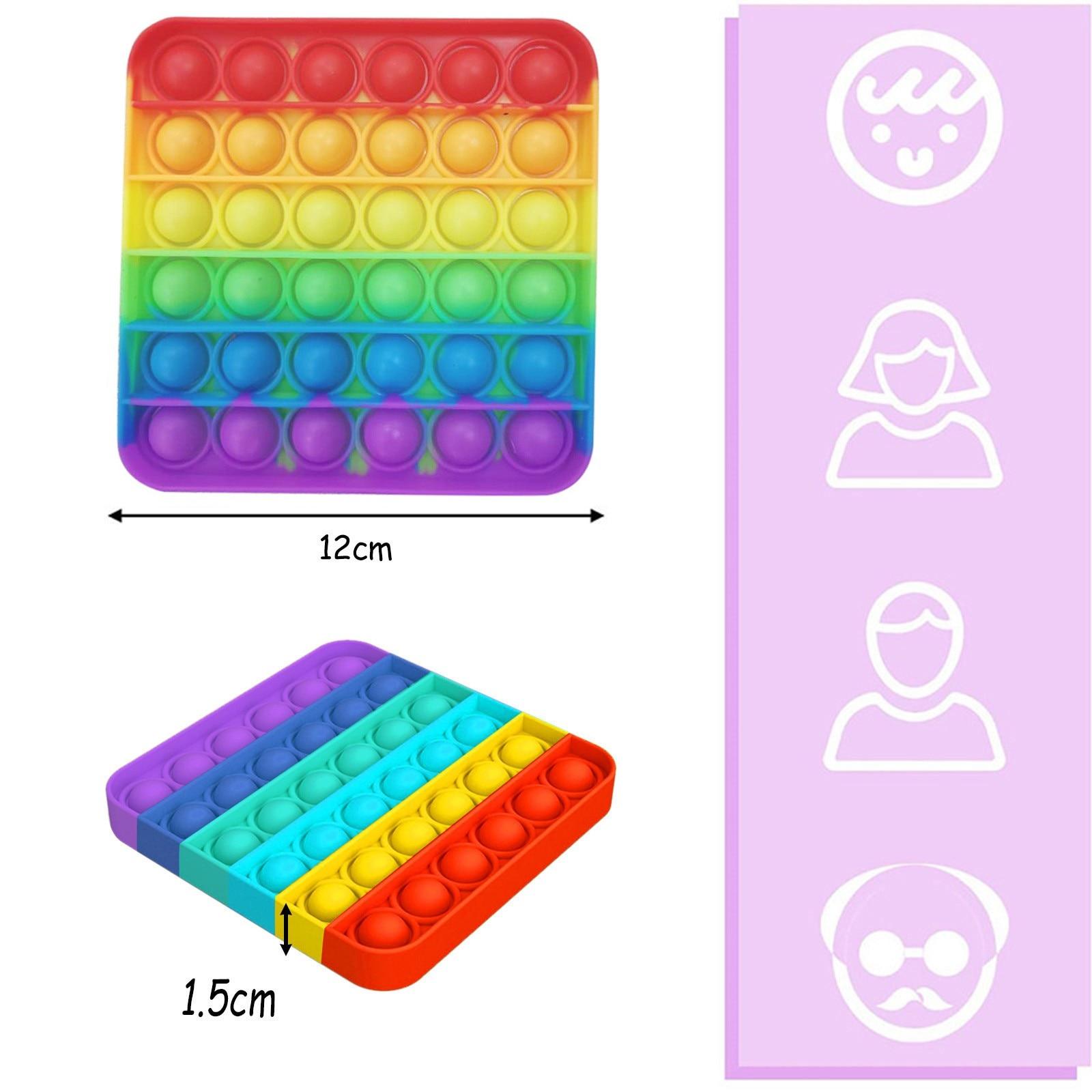 Fidget Toys Pack Anti Stress Set Kawaii Gift Toys Box Children Simple Dimple Antistress Relief Figet Toys Pakket Kit Dropship enlarge