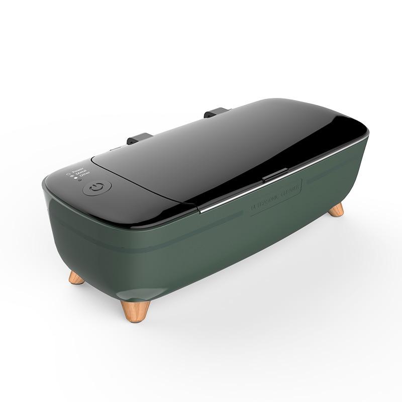 آلة التنظيف بالموجات فوق الصوتية 47000Hz عالية التردد الاهتزاز غسل نظافة غسل المجوهرات نظارات ساعة