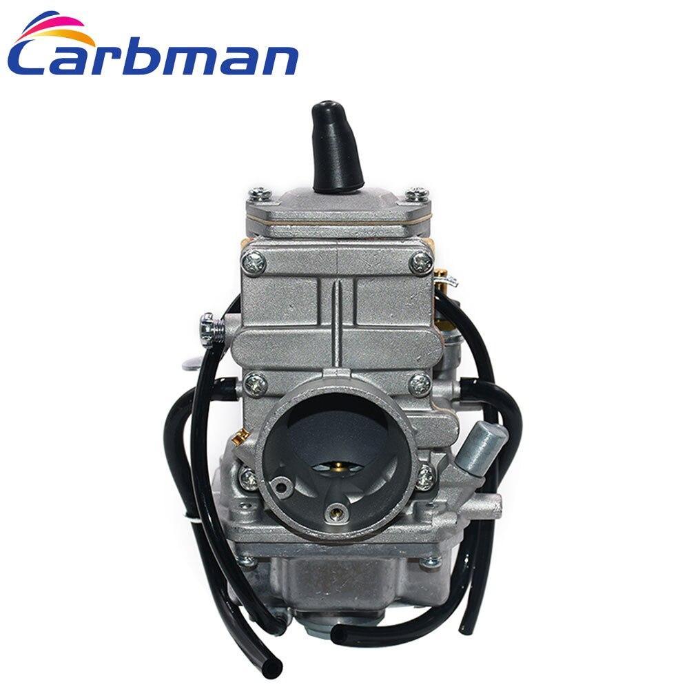 Carbman para Carburador MIKUNI 28mm TM28 Flat Slide Carb Desempenho VM28-418