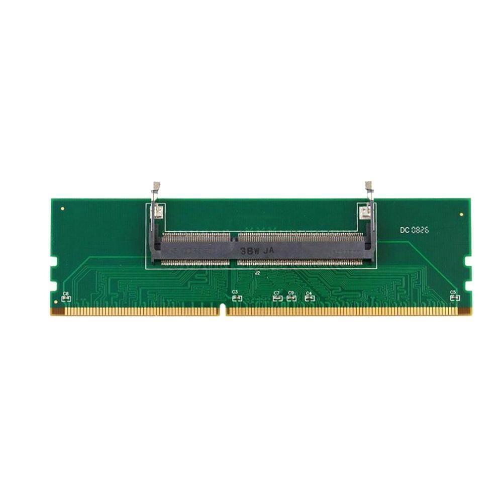 Uso y prueba Ddr3 Notebook So-dimm tarjeta adaptadora de memoria en Ddr3...