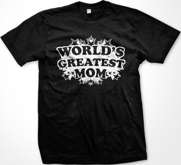 Лучшая в мире футболка для мамы со звездами на день матери для мамы и мамы Мужская футболка