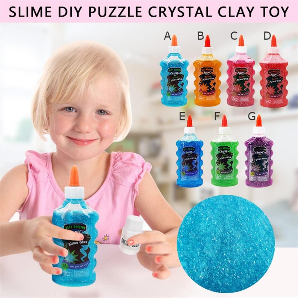 Elmer's Glue Deluxe Slime Starter Kit, Clear School Glue & Glitter Glue Pens,Soft Slime Stress Relief Toy Sludge