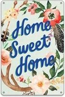 BellowDeer     pancarte retro en metal  mignon  maison  fleurs  maison  maison  Restaurant  cuisine