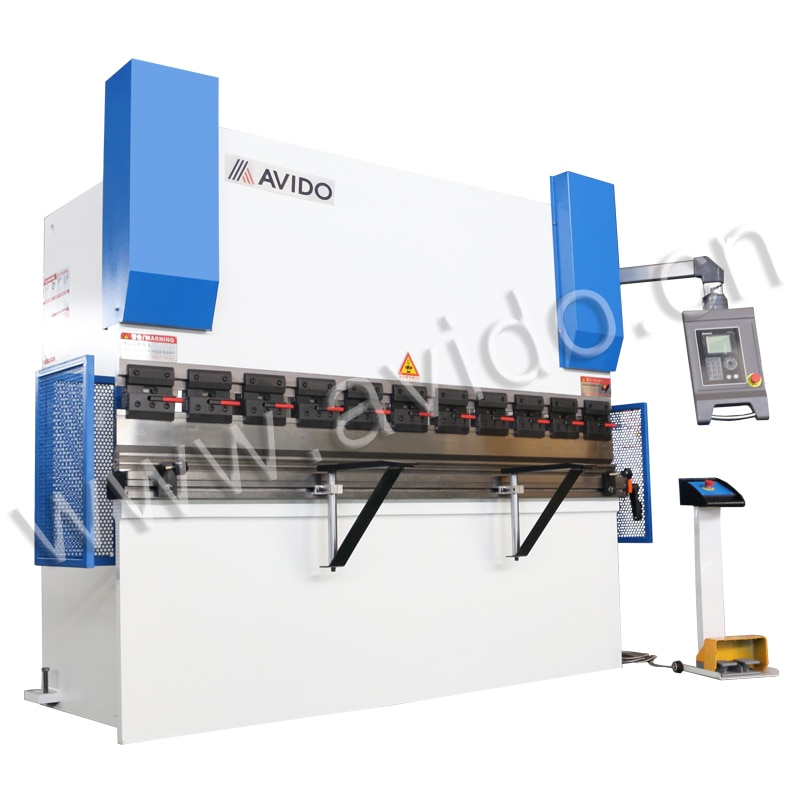 NC 100 ton metal sheet hydraulic press brake bending machine with DA41S