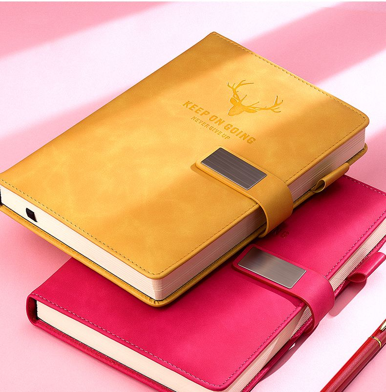 Diary A5 Super Thick Note 200 GSM Paper Planner Business Office School Supplies Sketchbook Stationery  Notebook Daily Work Page