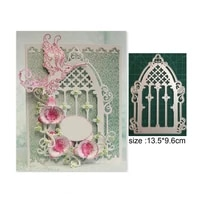 hollow castle new cutting dies for scrapbooking craft cards cutting dies for interactive cards