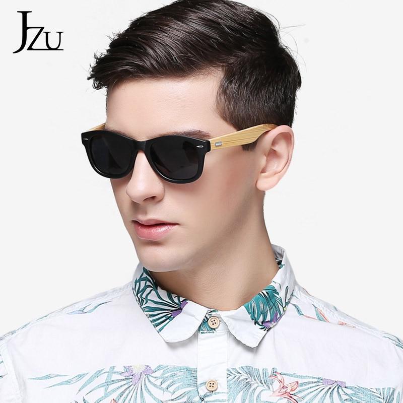 14 color Wood Sunglasses Men women square bamboo Women for men Mirror Sun Glasses retro 2020 Handmade