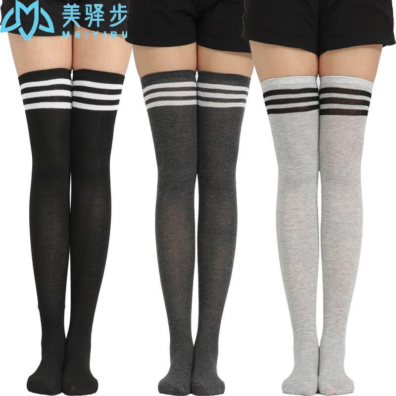 6 пар в комплекте, танцевальные носки, Универсальные женские гольфы, высокие носки, женские носки, оптовая продажа, прямые продажи от произво...