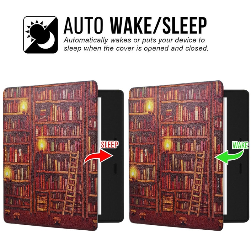 Kindle Oasis (10th Generation) Case for Kindle Oasis 3/2 (10/9 th Gen2019/2017 Release) Ereader with Auto Sleep/Wake Smart Cover