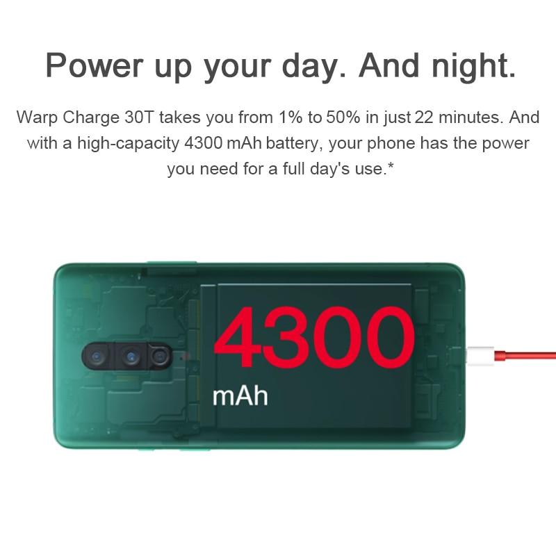 Фото5 - Глобальная версия OnePlus 8 5G смартфон 8 ГБ 128 Snapdragon 865 6,55 ''90 Гц жидкости Дисплей 48MP тройной OnePlus официального магазина Carter's NFC; код:P3XCNVAQ(₽2000-200)