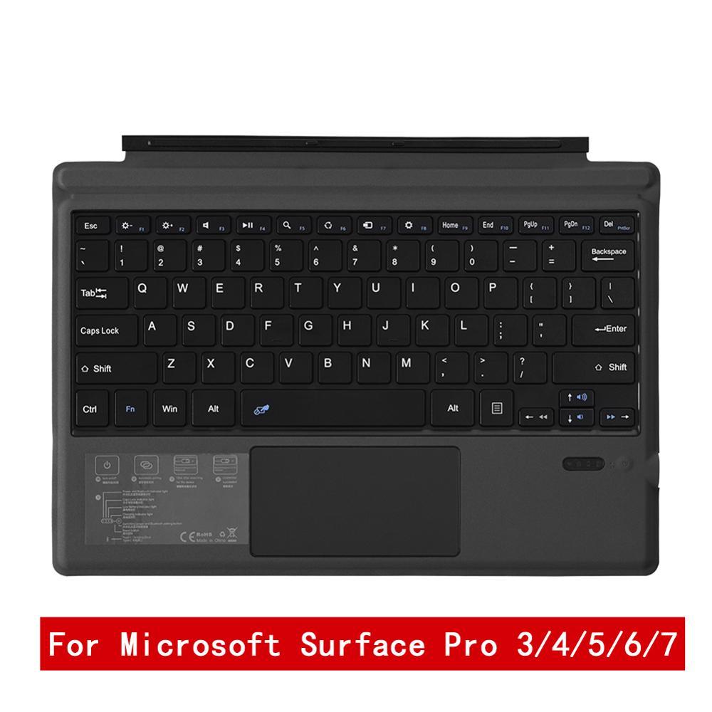 لوحة مفاتيح لمايكروسوفت السطح برو 3/4/5/6/7 قطعة سماعة لاسلكية تعمل بالبلوتوث 3.0 لوحة مفاتيح الكمبيوتر اللوحي لوحة مفاتيح الكمبيوتر المحمول الأ...