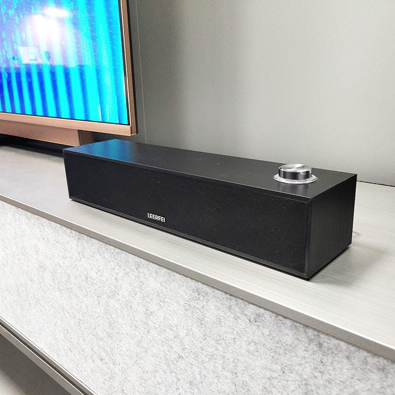 Wooden Portable Bluetooth Speaker, Wired Desktop Small Stereo,  bluetooth speaker  portable speaker  sound bar enlarge